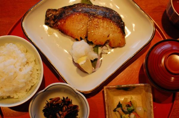 「青山 きくまさ」のさわらの西京焼きに満足 Food