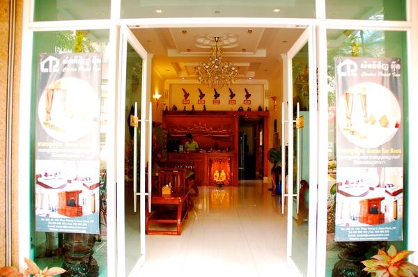 カンボジアの旅 プノンペンにあるホテル「Green Centre Point Inn」が良い感じ