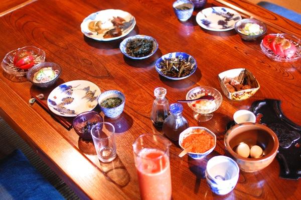 こだわりの素敵宿「古守宿一作」で旬を食す 〜朝食編〜 Food