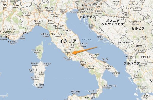 イタリアローマサン ピエトロ広場  Google マップ 1
