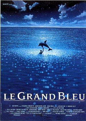 映画 「グラン・ブルー」 ロマンティックな映像美と男っぽいストーリーに共感