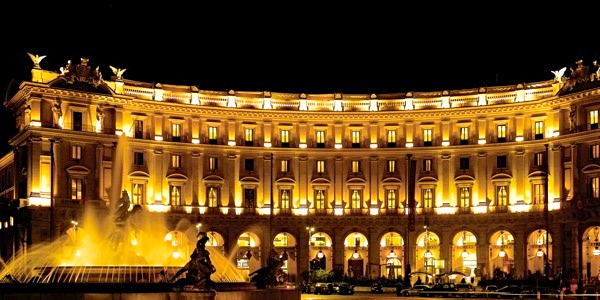 "5 Star Elegant Hotel in Italy ""Boscolo Exedra"" 〜2012 Europe vol.4〜 Travel"